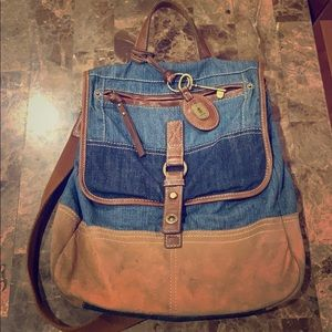Fossil Jean Backpack